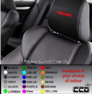 Recaro Logo Car seat Decals